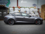 Tesla Model S foliert med Satin Dark Grey ,Solfilm Astolpe, Chrome delete