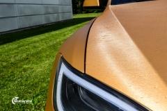 Tesla Model S helfoliert i brushed bronze fra Avery-13