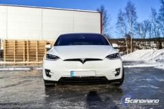 Tesla Model X helfoliert med lakkbeskyttelsesfilm (2 of 14)