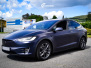 Tesla Model X helfoliert med Matt Space Mugello fra PWF,Chrome delete ,Solfilm