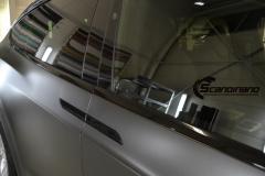 Tesla Model X helfoliert med Satin Dark Grey fra 3M, Solfilm,Chrme delete-6