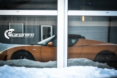 Tesla Roadstar foliert i orange Scandinano_-15