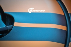Tesla Roadstar foliert i orange Scandinano_-2