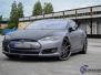 Tesla S foliering metalic