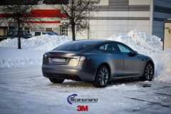 Tesla S foliert i Matt Dark Grey  (1 of 17)