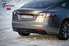 Tesla S foliert i Matt Dark Grey  (2 of 17)