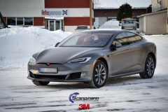 Tesla S foliert i Matt Dark Grey  (6 of 17)