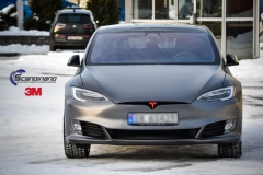 Tesla S foliert i Matt Dark Grey  (8 of 17)