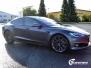Tesla S foliert  med matt lakkbeskyttelsesfilm