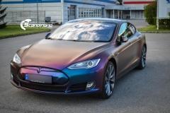 Tesla S foliert med rushing riptide Scandinano_-3
