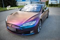 Tesla S foliert med rushing riptide Scandinano_-9