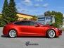 Tesla S helfoliert med matt anodized red