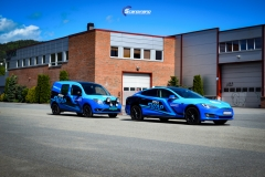 Tesla S , Mercedes Citan  decor DEKK SWAP-7