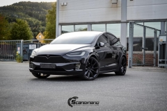 Tesla X Chrome delete , Styling, Solfilm Scandinano_-12