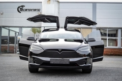 Tesla X Chrome delete , Styling, Solfilm Scandinano_-13