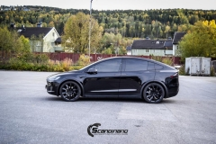 Tesla X Chrome delete , Styling, Solfilm Scandinano_-15