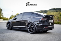 Tesla X Chrome delete , Styling, Solfilm Scandinano_-16