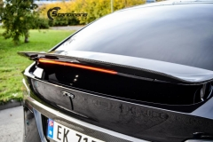 Tesla X Chrome delete , Styling, Solfilm Scandinano_-2