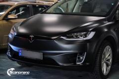 Tesla X foliert i matt lakkbeskyttelsesfilm Scandinano_-6