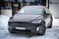 Tesla X Foliert i Black Satin by Scandinano_-8