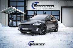 Tesla X Foliert i Black Satin by Scandinano_-9