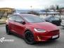 Tesla X model foliert med matt lakkbeskyttelsesfilm