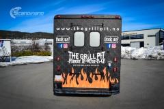 The Grill Pit  truck helfoliert med print folie-5