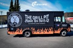 The Grill Pit  truck helfoliert med print folie-6