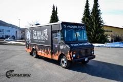 The Grill Pit  truck helfoliert med print folie-7