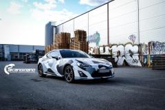 Toyota GT86 foliert i camo Scandinano_-2