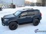 Toyota Land Cruiser helfoliert med matt lakkbeskyttelsesfilm