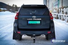 Toyota Land Cruiser helfoliert med matt lakkbeskyttelsesfilm-9