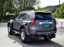 Toyota Land Cruiser helfoliert med Satin Dark Grey fra 3M,Arctic Trucks