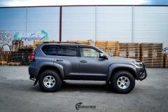 Toyota Land Cruiser helfoliert med Satin Dark Grey fra 3M,Arctic Trucks-1