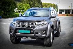 Toyota Land Cruiser helfoliert med Satin Dark Grey fra 3M,Arctic Trucks-4