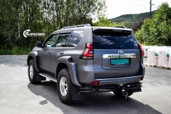 Toyota Land Cruiser helfoliert med Satin Dark Grey fra 3M,Arctic Trucks-7