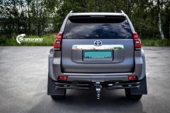 Toyota Land Cruiser helfoliert med Satin Dark Grey fra 3M,Arctic Trucks-8