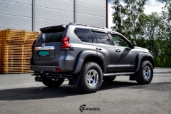 Toyota Land Cruiser helfoliert med Satin Dark Grey fra 3M,Arctic Trucks-9