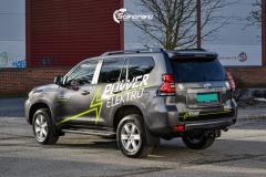 Toyota Land Cruiser profilert for POWER ELEKTRO-4