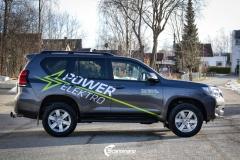 Toyota Land Cruiser profilert for POWER ELEKTRO-6