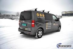 Toyota Proace profilert med Tranby Tømrerne dekor-6