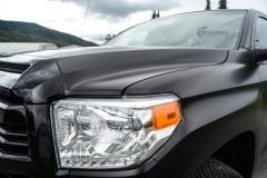 Toyota Tundra helfoliert med Black Satin fra 3M-12