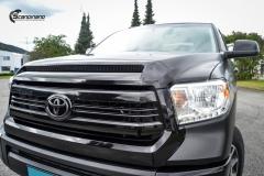 Toyota Tundra helfoliert med Black Satin fra 3M-13