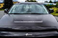 Toyota Tundra helfoliert med Black Satin fra 3M-14