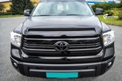 Toyota Tundra helfoliert med Black Satin fra 3M-15