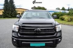Toyota Tundra helfoliert med Black Satin fra 3M-4