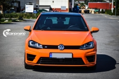 Volkswagen Golf R Orange Bright Gloss Scandinano_