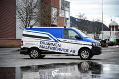 Volkswagen Transporter profilert for Malerservice AS-2
