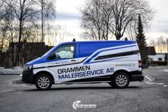 Volkswagen Transporter profilert for Malerservice AS-6