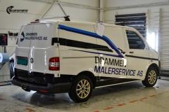 Volkswagen Transporter profilert for Malerservice AS-9